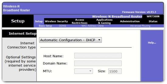 Configuración de un router inalámbrico como cliente DHCPv4
