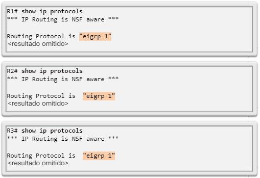 Configuración de interfaz IPv4 y de EIGRP para IPv4