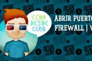 Cómo abrir un puerto en el Firewall de Windows