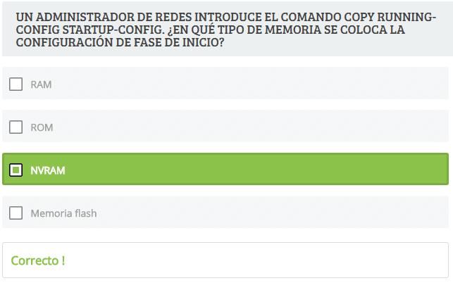 Simulador Exámenes Resueltos Cisco CCNA v6