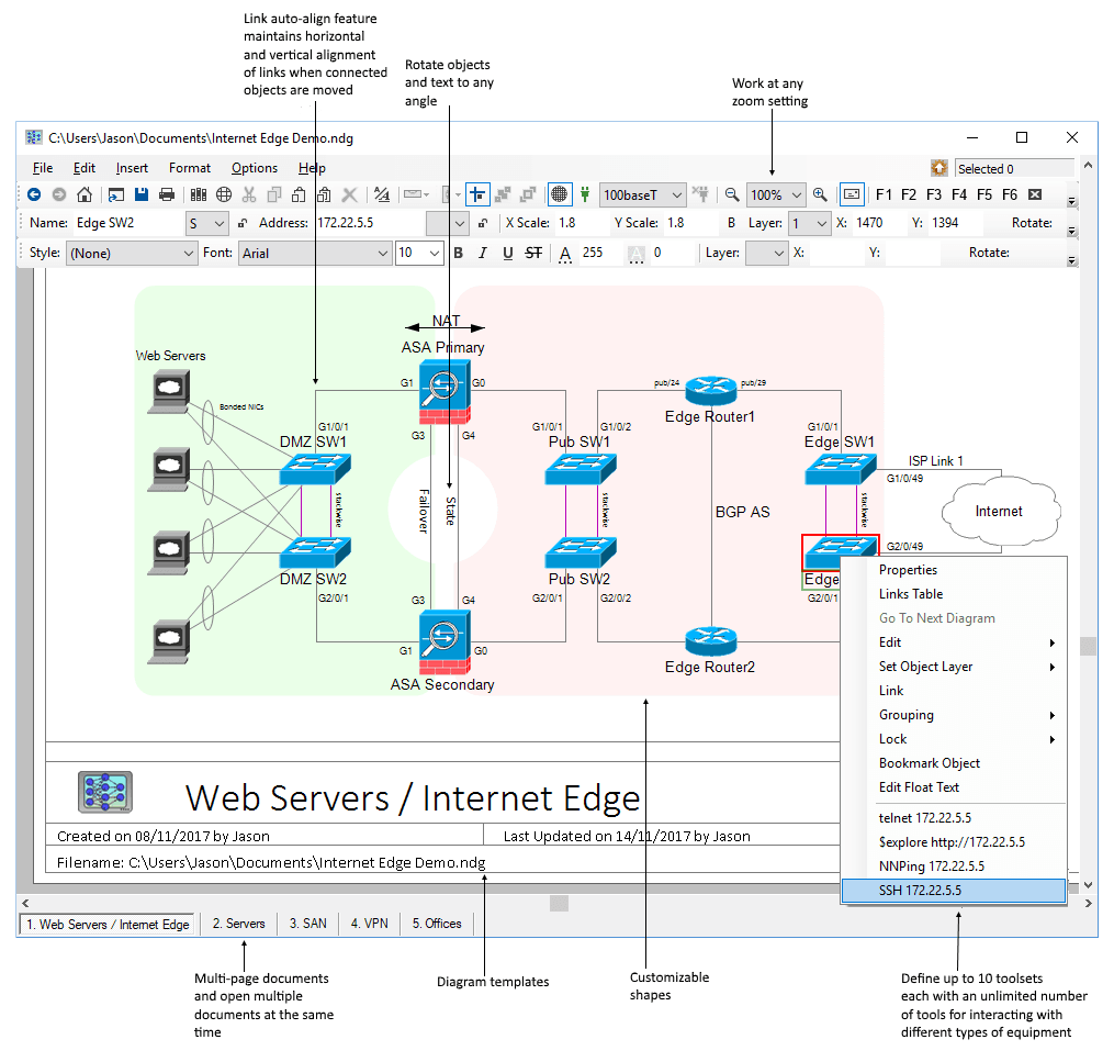 Software Network Notepad