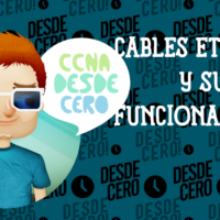 Cables ethernet y su funcionamiento