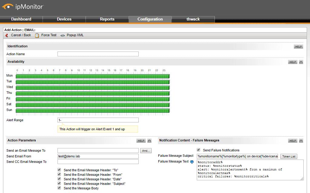 Software IP Monitor para Windows