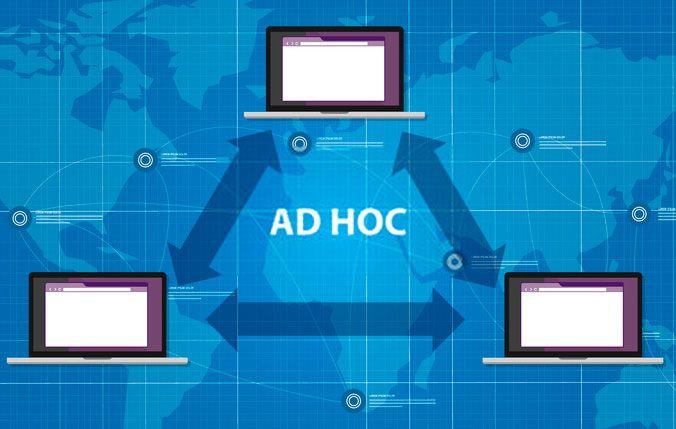 Cómo Funciona una red ad hoc