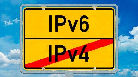 IPv4 reemplazar IPv6