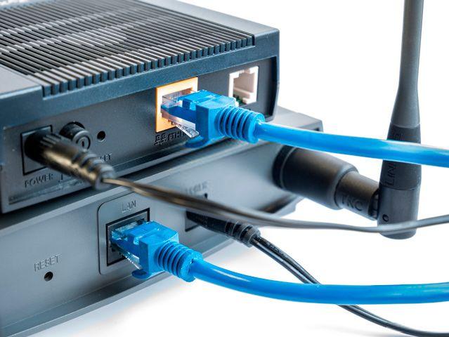 Punto de acceso inalámbrico o router inalámbrico