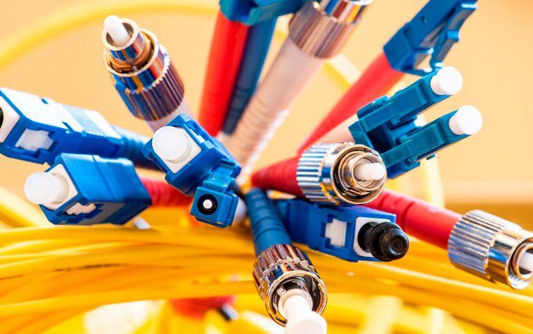 Tipos de cables de fibra óptica
