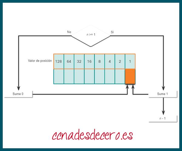 Conversión Decimal a Binaria 1