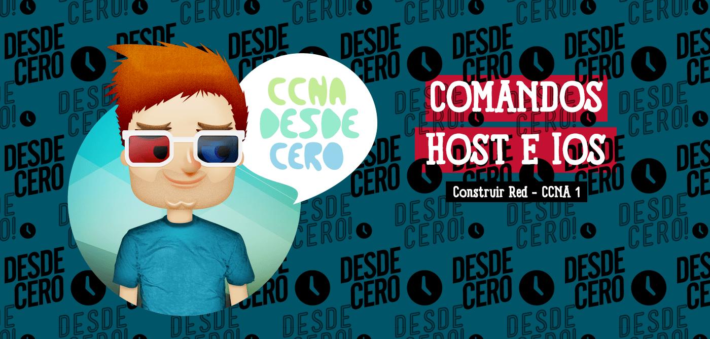 Comandos Host e IOS CCNA