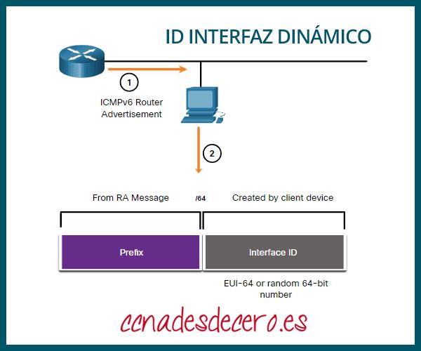 Crear dinámicamente ID de interfaz