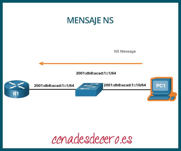 Mensaje NS