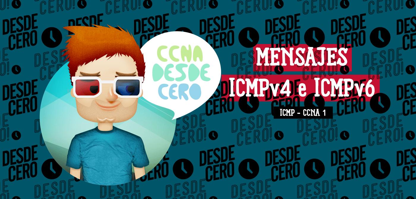 Mensajes ICMPv4 e ICMPv6