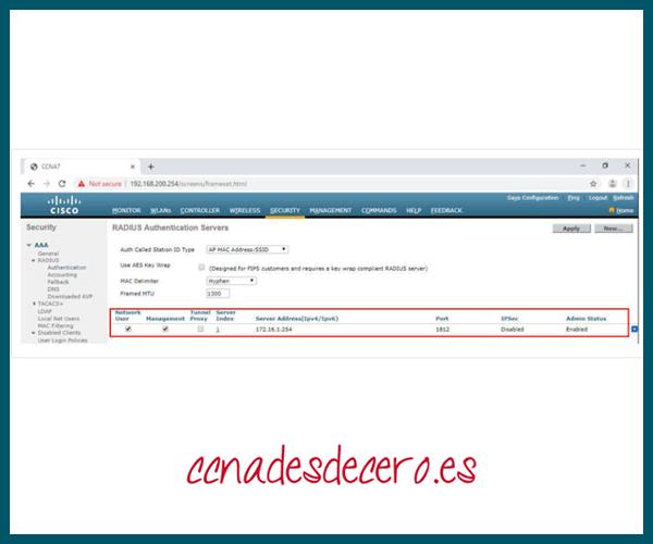 Configurar Servidor SNMP