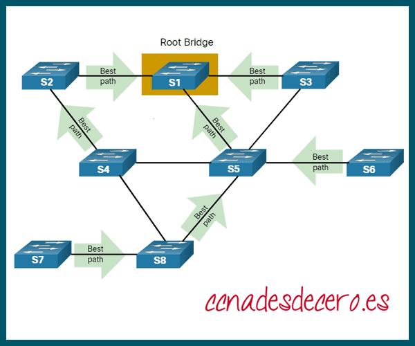 Seleccionar el Root Bridge