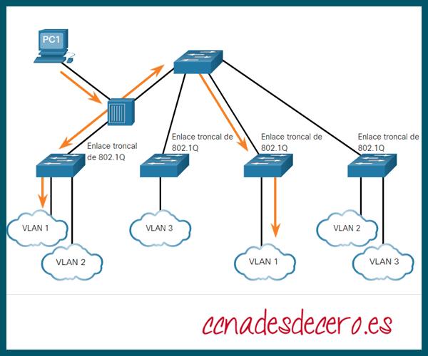 VLAN Etiquetado  802.1Q