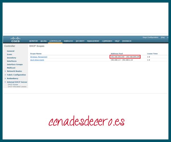 Verificar nuevo ámbito DHCP