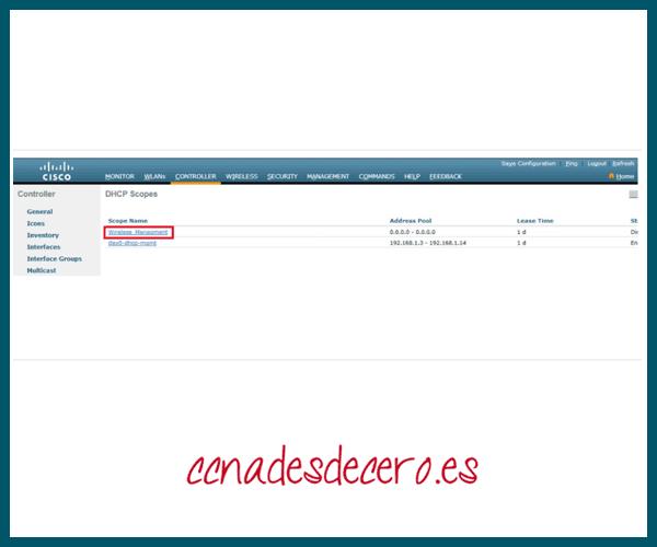 Verificar nuevo alcance DHCP