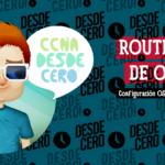 Router ID de OSPF CCNA 200 301