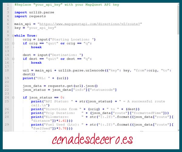 API con Python