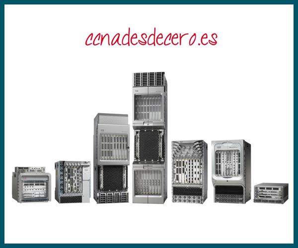 Cisco ASR 9000 y 1000 Series