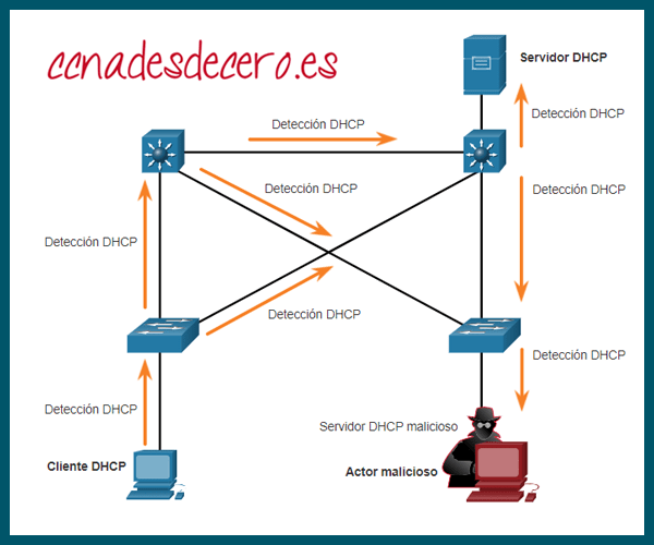 Mensajes Discovery DHCP