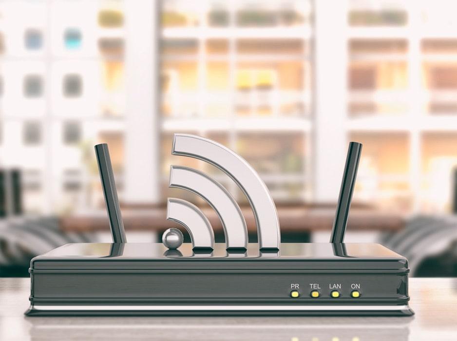 Router WiFi en Oficina