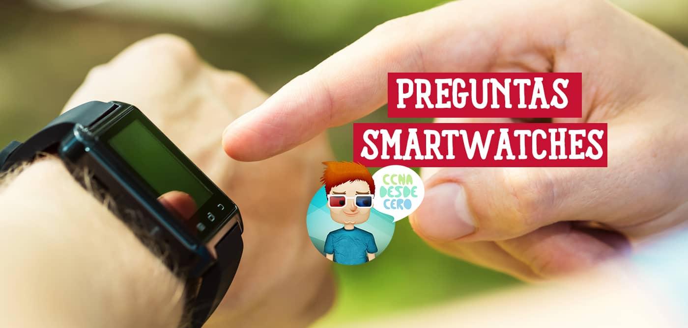 Necesitan Internet los Smartwatches